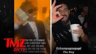Drake, Future Party with Gunna at His Celeb-Packed 28th Birthday Bash   TMZ TV