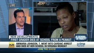 Grieving mom: School knew about peanut allergy