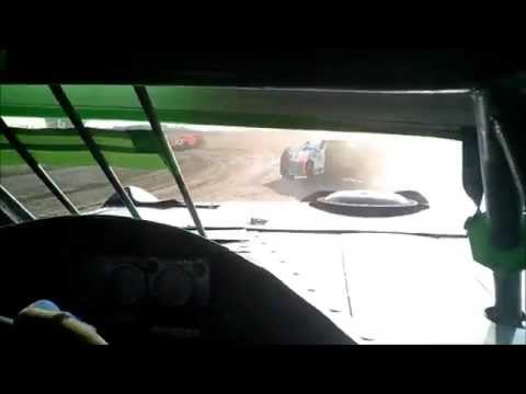 WISSOTA Super Stock - Sheyenne River Speedway - 6/28/15 - Heat
