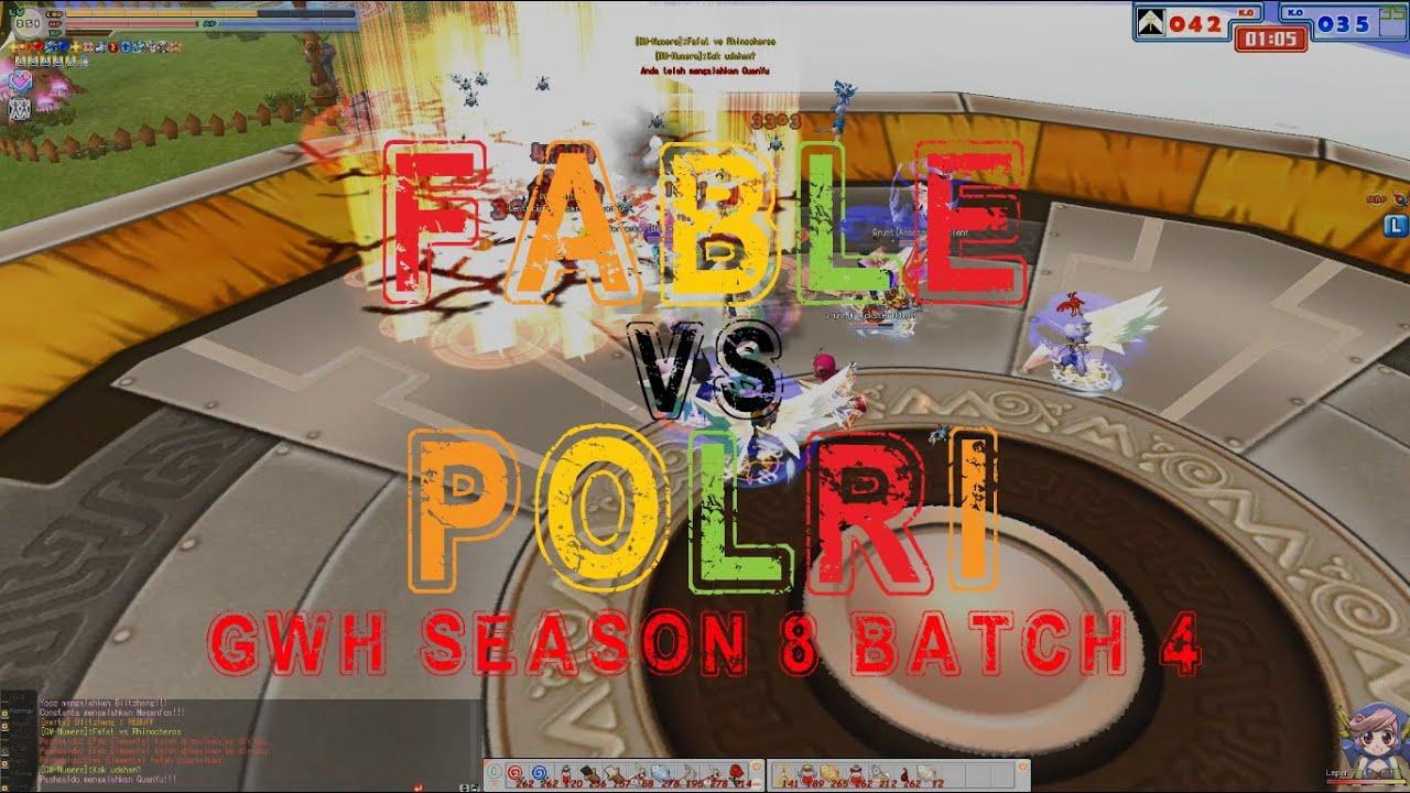 GWH S8 B4 Fable vs POLRI - Seal Online IndoRPG