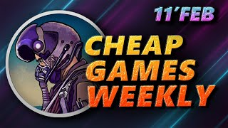11 Feb | Cheap PC Games of the week | Steam Games, Epic Games, Humble Bundle, GMG, GOG