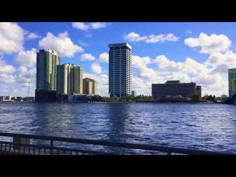 iPhone X 1080p 30fps Video Test Downtown Jacksonville Florida