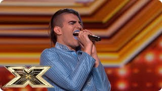 Bang Bang! Ezat Azur takes to The X Factor stage | Auditions Week 3 | The X Factor UK 2018