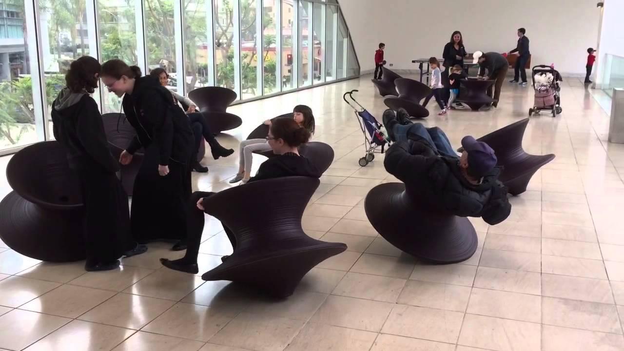 Playing in Heatherwick Chairs  YouTube