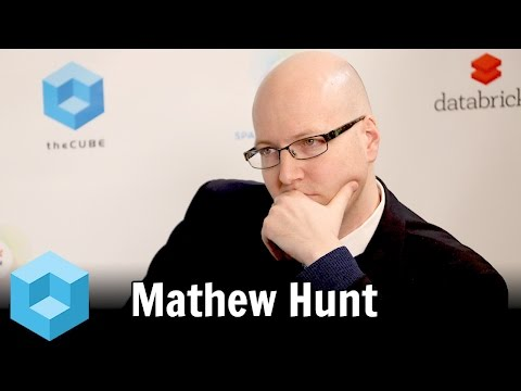 Matthew Hunt – Spark Summit East 2016 – #SparkSummit – theCUBE