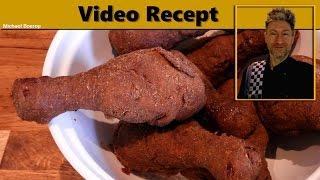 Extra krokante gefrituurde kip