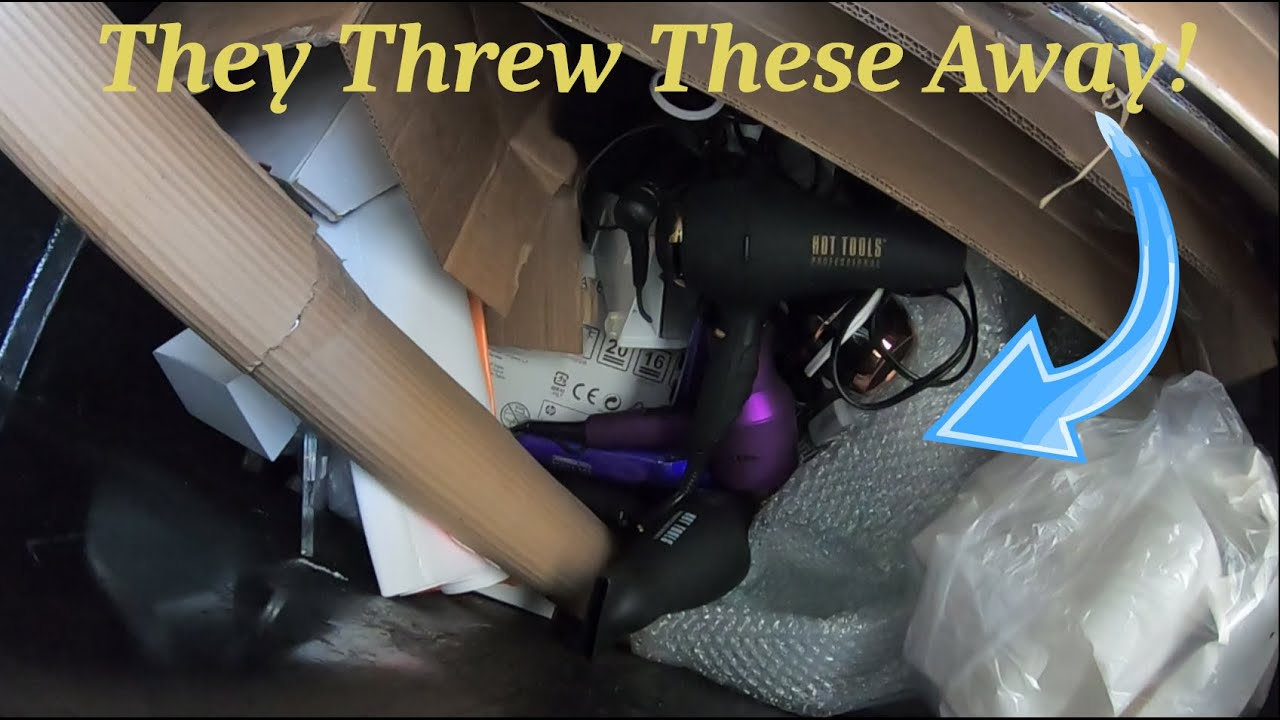 Dumpster Diving #64 - What Did The Dumpsters Have For Us Today?
