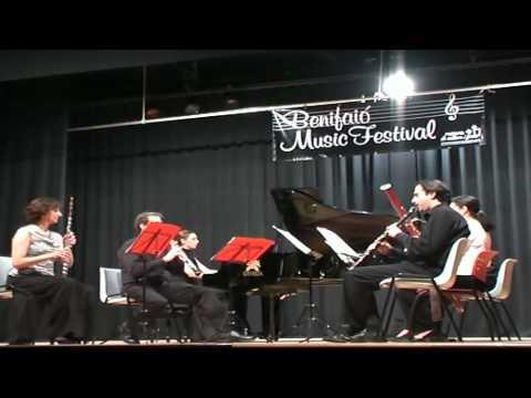 Poulenc sextet I Allegro vivace