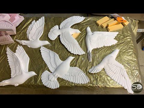 Декоративные птицы своими руками