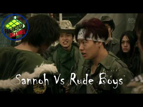 High And Low - Sannoh Vs Rude Boys Full Fight