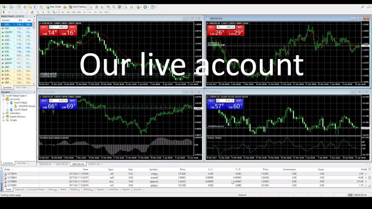 Living off forex