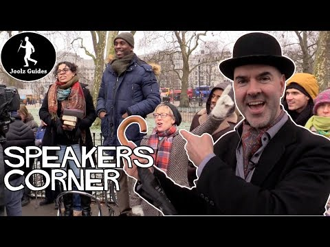 Speakers Corner, Marble Arch, Medieval Executions and Hyde Park