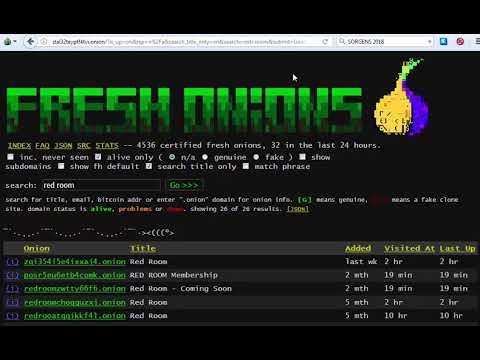 DEEP WEB: FRESH ONIONS