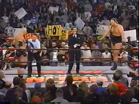 WCW/nWo Monday Night Nitro Goldberg Vs The Giant