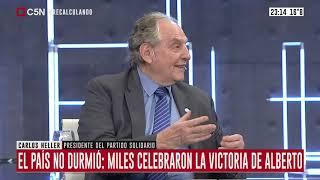 28-10-2019 – Carlos Heller en C5N - Recalculando, con Julián Guarino - #Elecciones2019 #Transición