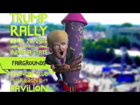Donald Trump Rally Indianapolis, IN 4-20-2016