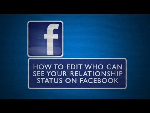 how to see relationship on facebook