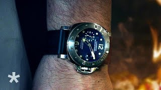 Watches In Action: Panerai & Roman Style Italian Food at Amis Trattoria