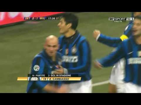 Cambiasso in Inter-milan