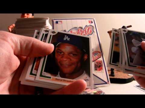 1991 UPPER DECK BASEBALL BOX BREAK (LSL) CHIPPER JONES RC GRIFFEY JR CARDS FOR SALE
