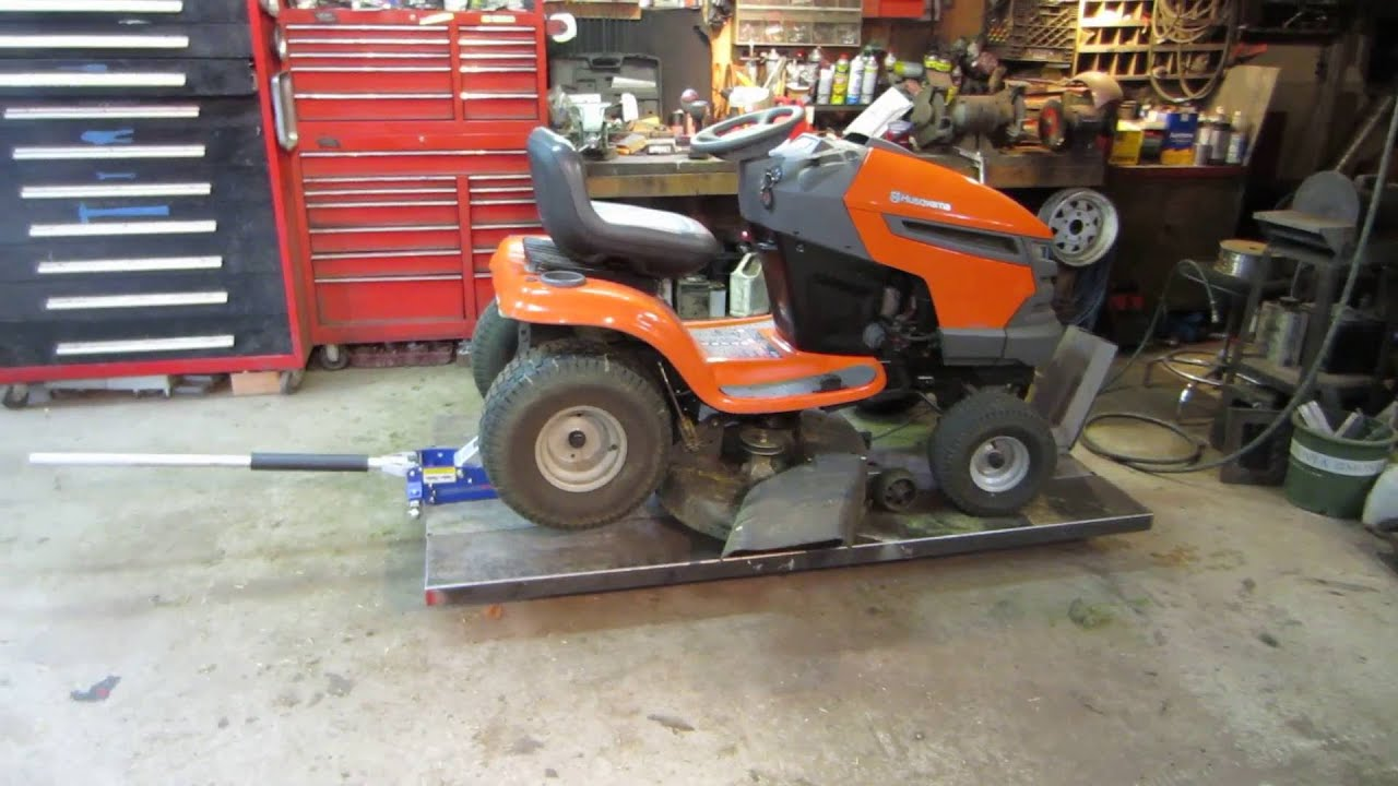 Husqvarna Lawn Tractor That Wont Shift Youtube
