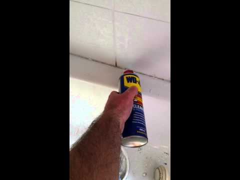 Quickly remove bath sealant mastic caulk trick