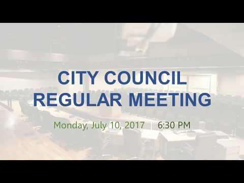 Malibu City Council Meeting July 10, 2017