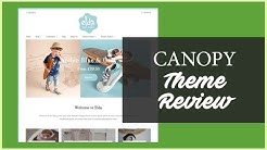 Canopy Shopify Theme Review