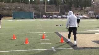 James Baker Idaho NFL Pro Day