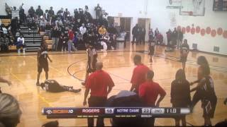 One of the nastiest crossover ever happened in a girls high school basketball game