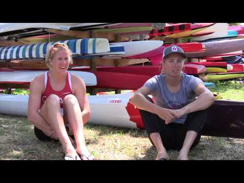Canada's Laurence Vincent-Lapointe and Katie Vincent discuss their unusual paddling technique