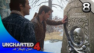 UNCHARTED 4: A Thief's End Walkthrough Part 8 · Ch. 8: The Grave of Henry Avery (100% Collectibles)