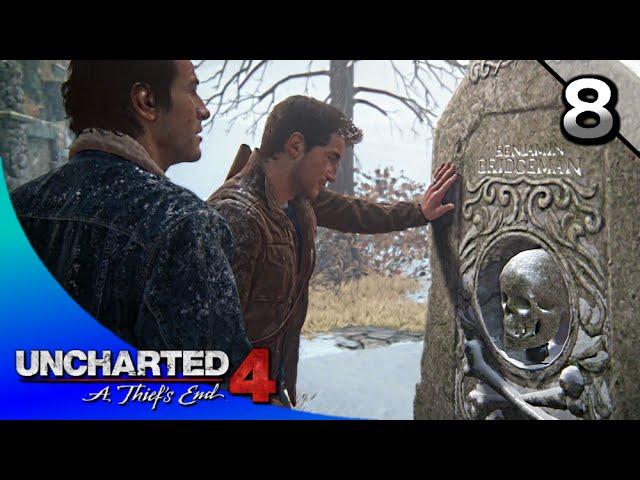 Uncharted 4 A Thief S End Walkthrough Part 8 Ch 8 The Grave