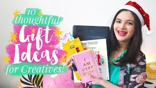 🎁 10 Thoughtful Gift Ideas For Artists And Creatives | #jecalidays 🎁