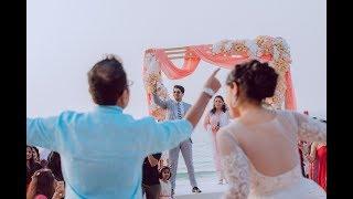 Same Day Edit Film of The Best Indian Destination Wedding at Fairmont, Ajman - ShaazGetsAbs SDE