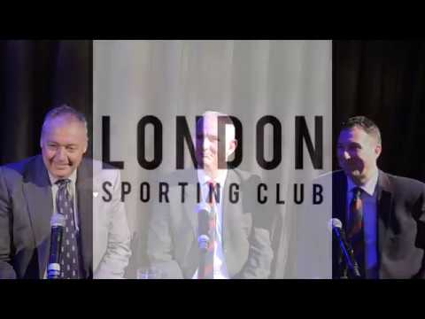 London Sporting Club - Ashes Breakfast Interview
