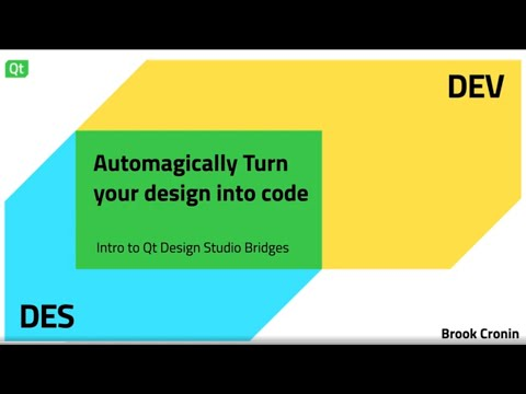 Automagically' turn your design into code – Dev/Des 2021