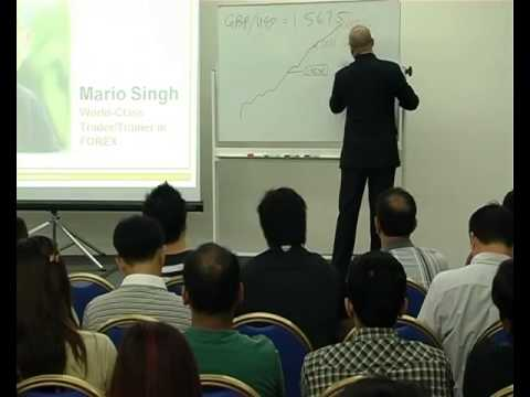 Forex Wealth Foundation Seminar with Mario Singh Video 1 5  Forex Wealth Basics