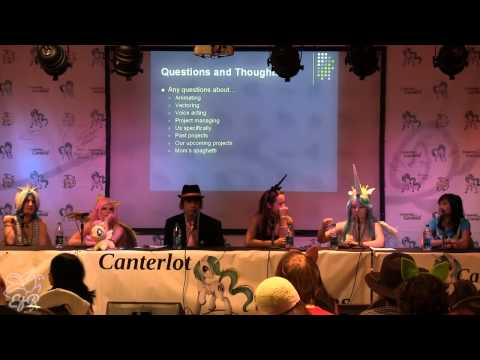 Canterlot Gardens - Animation Production Panel