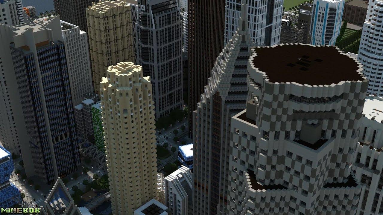 Игры майнкрафт в городе