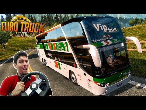 Viajando Pelo Brasil Rio De Janeiro x Barbacena-MG Ônibus Viação São Geraldo Euro Truck2 com G27!