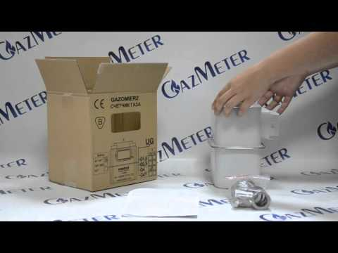 Обзор газового счетчика Metrix G4 от интернет магазина GazMeter.com