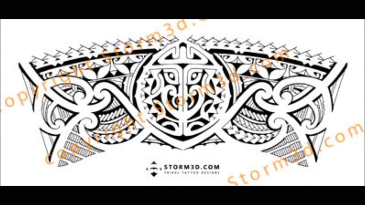 Maori Band Tattoo: Tribal Armband/legband Tattoo Design: How To Make A