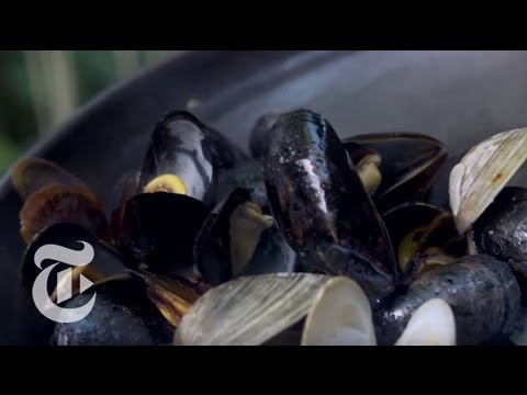 Smoky, Juicy Grilled Mussels And Clams | Melissa Clark Recipes | The New York Times