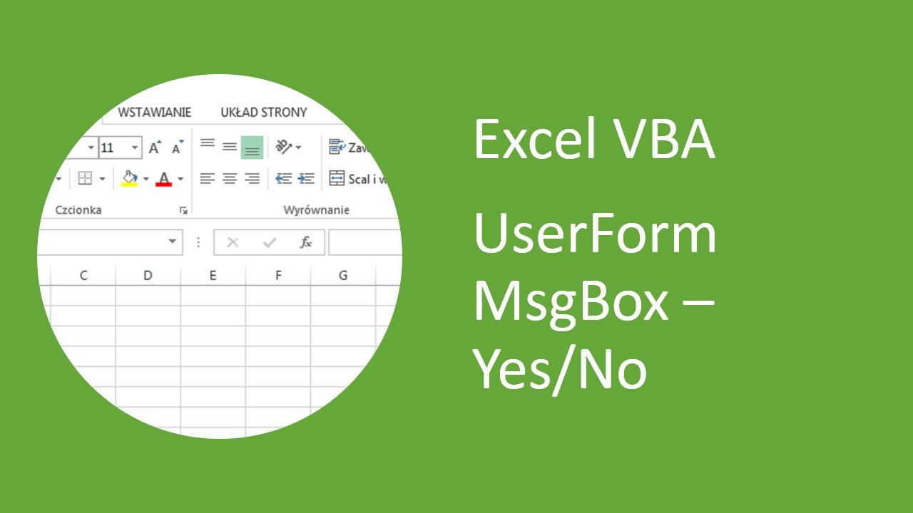 how to put yes or no in excel