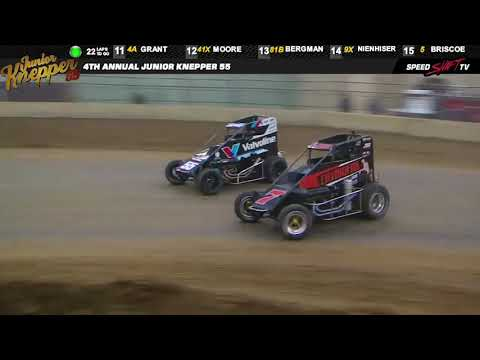 "USAC ""Knepper 55"" National Midget Highlights 