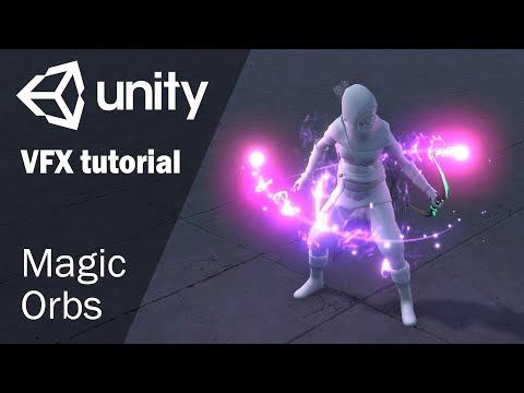 Урок по созданию спецэффекта магических орбов в Unity 2018.1 thumbnail