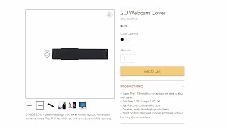 Webcam Cover 2.0