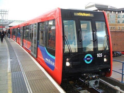 DLR, DOCKLANDS LIGHT RAILWAY, LONDON PUBLIC TRANSPORT, DRIVERLESS TRAINS