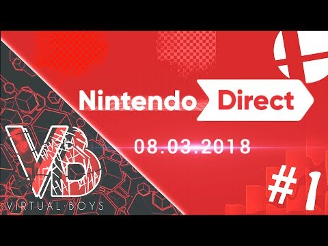NINTENDO DIRECT con Los Virtual Boys | POKEMON?? SMASH?? SMASH!!!